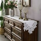Lace Embroidery Table Runners Retro Cabinet TV Table Cloth Cover Wedding Decor for sale  Shipping to South Africa