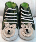 GREEN CAMOUFLAGE SNEAKERS SHOEs 3 6 12 18 MONTHS BABY TODDLER INFANT BOYS GIRLS