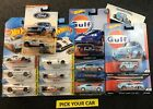 Hot Wheels GULF Cars - Pick your CAR - Car Culture and Mainline Singles