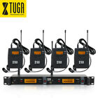 IEM1200 Wireless In Ear Monitor System 2 Channel 4 Bodypack for Stage Monitoring