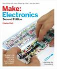 Make: Electronics : Learning Through Discovery by Charles Platt (2015,...