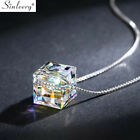 Lovely Square Star Ball Crystal Choker Necklace 2 Colors Fashion Party Jewelry