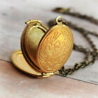 Scale Pretty 4 Picture Photo Frame Locket Box Oval Pendant Memorial Family Gifts