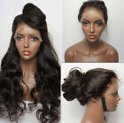 24inch Fashion Big Long Body Wave Wig Front Lace Wigs With Baby Hair For Women