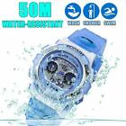 Kid Watch LED Sport 30M Waterproof Multi Function Digital Wristwatch Kids gift image