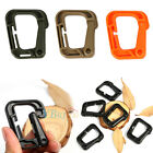 5X Buckle Keychain D-Ring Snap Plastic Clip Hook Outdoor Carabiner Camping 5.5CM