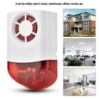 Flash Outdoor Siren Red Light 100dB 433MHz 315MHz Home Security Alarm