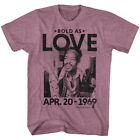 Jimi Hendrix Bold As Love April 20 1969 Men's T Shirt 420 Rock Legend Concert image