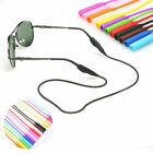 Silicone Sport Sunglasses Glasses Spectacles Neck Cord Strap Lanyard Holder