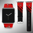 Tampa Bay Buccaneers Apple Watch Band 38 40 42 44 mm Fabric Leather Strap 2 on eBay