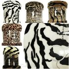 Animal Print Faux Fur Large Mink Throw Warm Fleece Bed Sofa Blanket All Sizes UK