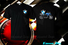 BMW Logo F650GS Motorcycle Man T-Shirt USA Size : S-3XL Front-Back
