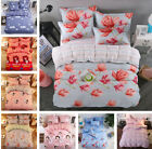 3 Pcs Set Bedding Colorful Fitted Bedroom Duvet +Sheet +Pillowcase Cover Cotton