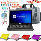 Fast Dell Laptop Windows 10 DVD Intel Cor i5- 4.0Ghz WIFI 4GB OFFICE ANTIVIRUS