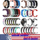 Silicone Watch Band Wrist Strap For Samsung Galaxy Watch 42mm 46mm Gear S3 S2 xi image