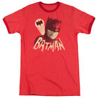 Batman Classic Tv Bat Signal Short Sleeve T-Shirt Licensed Graphic SM-3X