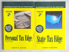 Parsons Technology Personal Tax Edge User's Guides, 1991, 1992, 1993, 1994