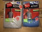 Hanes Mens 8 Pack Colored Tank Top A Shirts S M L XL 2XL 100% Cotton!!