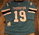 #19 Joe Thorton San Jose Sharks Jersey $60.0 USD on eBay