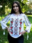 Romanian Embroidered Shirt Traditional Top Blouse Ie National Costume