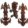 More images of Rare model fancy Crazy-1 art streamline carving dragon 4 / 4 electric cello