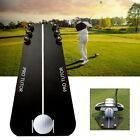 Portable Golf Putting Mirror Training Alignment Mirror Golf Aid Alignment Tools