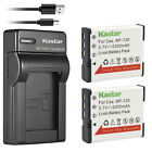 Kastar Battery Slim USB Charger for NP-130 & Casio Exilim EX-10 Exilim EX-100