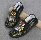 Chinese Style Retro Women Cloth Shoes Canvas Embroidery Casual Shoes Slip On Hot