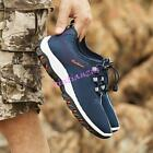 Mens tennis shoes Hiking Outdoors Sports Casual Walking Mesh Sneakers Running