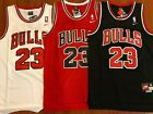 Michael Jordan #23 Red Chicago Bulls Red/White/Black Jersey Men NWT