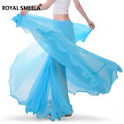 Women Lady Chiffon 360 Full Circle Belly Dance Skirt Tribal Gypsy Costumes