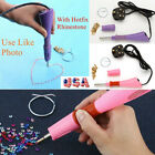 Rhinestone Iron-on Hot Fix Applicator Wand Heat Gun Crystal Gems DIY Tool US