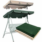 "Swing Top Cover Canopy Replacement Porch Patio Outdoor 77""x43"" Green Beige"