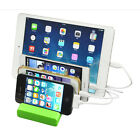 4 Ports USB hub Charging Dock Station Charger Stand Holder for iPAD iPhone Tab