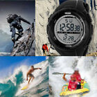 New Digital Watches Men's Luminous Outdoor Sport Day Date Wrist Watch Waterproof image