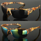 Men's Real Tree Camouflage Camo Sports Golf Fishing Hunting Sunglasses Shades
