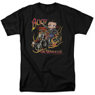 Betty Boop On Wheels Short Sleeve T-Shirt Licensed Graphic SM-7X $27.29 USD on eBay