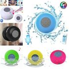 Waterproof Bluetooth Wireless Shower Speaker Handsfree Music Mic Suction Car