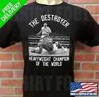 ANDY RUIZ JR THE DESTROYER HEAVYWEIGHT CHAMPION OF THE WORLD T SHIRT