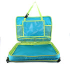 Kids Car Seat Travel Tray Toddler Snack Play Trays Large iPad Holder Waterproof