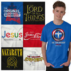 Christian Tee Shirt Religious T Shirts For Mens Pop Culture Novelty Gift Tshirts image