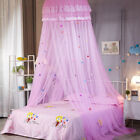 Child Lace Bed Mosquito Netting Mesh Canopy Princess Round Dome Bedding Net Tent image