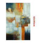 Modern Abstract Hand Painted Oil Painting Stretched Canvas Wall Art (Framed)