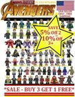 Avengers Minifigure Building Blocks Fits Lego End Game Iron Man Captain Marvel