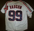 #99 Rick VAUGHN Cleveland Indians Jersey WHITE S XL 2X 3X 4X  WILD THING!! on Ebay