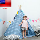 Portable Playhouse Sleeping Dome Indian Teepee Tent Baby Children Play House US