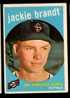 1959 TOPPS BASEBALL 201 TO 300 SELECT FROM LIST