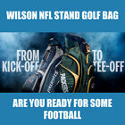 New Wilson NFL Carry Stand Golf Bag  -  Pick You Team $114.99 USD on eBay