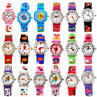 Hot Fashion 3D Cartoon Waterproof Wrist Watch Rubber Analog For Kids Boys Girls  image
