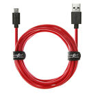 Heavy Duty 20AWG Long Fast Charge Micro USB 2.0 Data Phone Charger Cable Lead